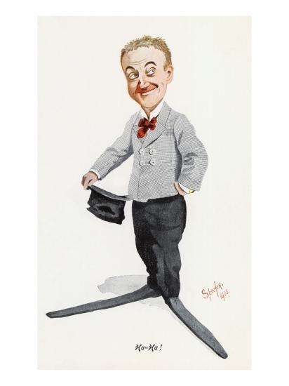 Little Tich (Harry Relph) Music Hall Entertainer--Giclee Print