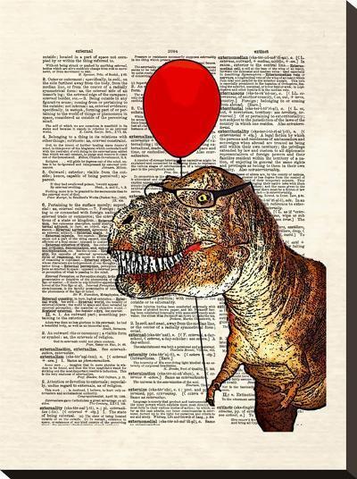 Little Tony-Matt Dinniman-Stretched Canvas Print
