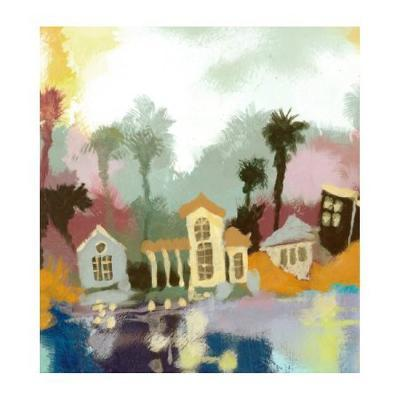 Little Toy Town II-Larson-Collectable Print
