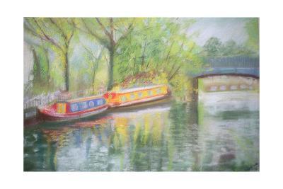 Little Venice, Regent's Canal, 1996-Sophia Elliot-Giclee Print
