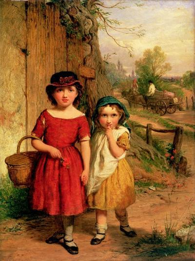 Little Villagers, 1869-George Smith-Giclee Print
