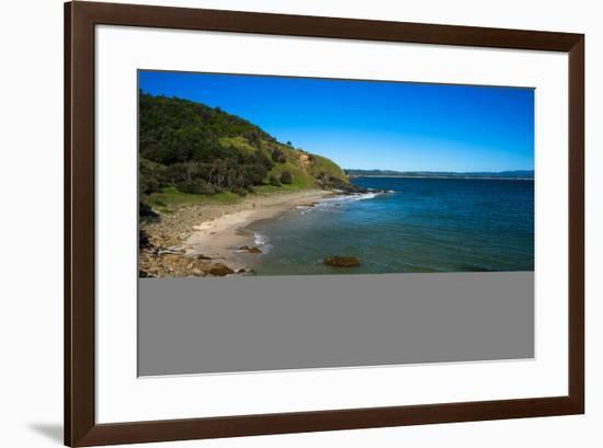 Little Wategos beach at Cape Byron Bay, New South Wales, Australia, Pacific-Andrew Michael-Framed Photographic Print