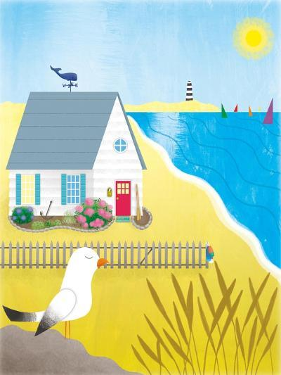 Little White House - Turtle-Sheree Boyd-Giclee Print
