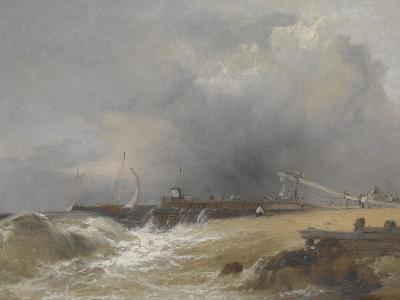 Littlehampton Pier on the Sussex Coast, C.1842-James Baker Pyne-Giclee Print