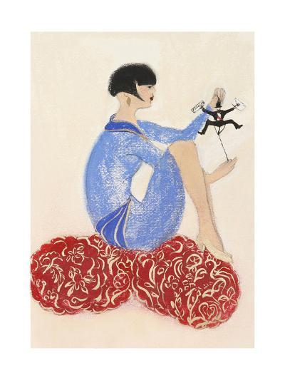 Littleman Series I-Susan Adams-Giclee Print