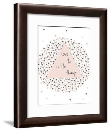 Littlethings-Nanamia Design-Framed Art Print
