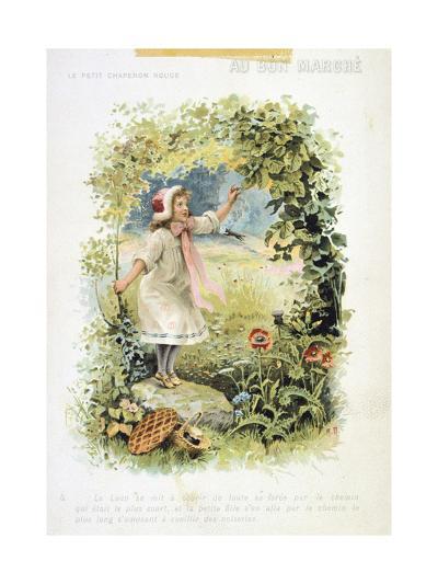 Litttle Red Riding Hood, 19th Century--Giclee Print
