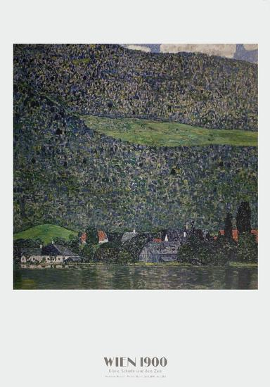 Litzlberg am Attersee-Gustav Klimt-Art Print
