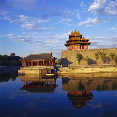 Corner Tower of Forbidden City