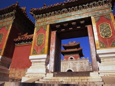 Tomb of Empress Dowager Cixi