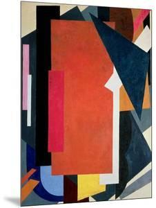 Painterly Architectonics, 1916-17 by Liubov Sergeevna Popova