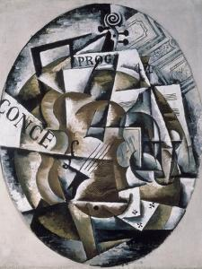 Violin by Liubov Sergeevna Popova