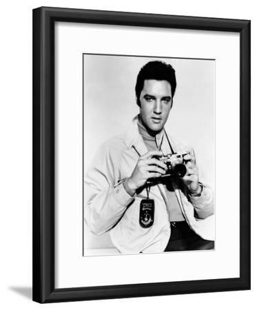 Live a Little, Love a Little, Elvis Presley Poses with His Leica Camera, 1968