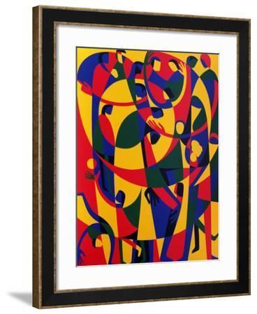 Live Adventurously, 1998-Ron Waddams-Framed Giclee Print