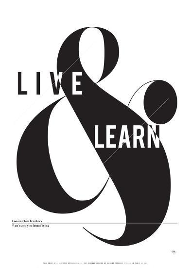 Live and Learn-Antoine Tesquier Tedeschi-Art Print