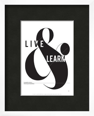 Live and Learn-Antoine Tesquier Tedeschi-Framed Art Print