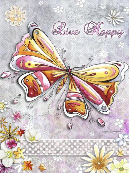 Live Happy-Megan Duncanson-Giclee Print