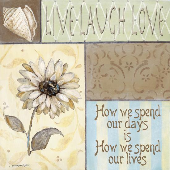 Live Laugh Love-Jo Moulton-Art Print