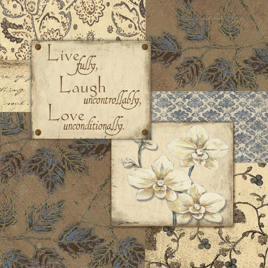 Live Laugh Love-Jo Moulton-Art Print