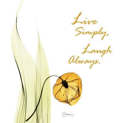 Live Laugh Sandersonia H51-Albert Koetsier-Art Print