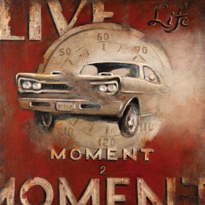 Live Life-Janet Kruskamp-Premium Giclee Print