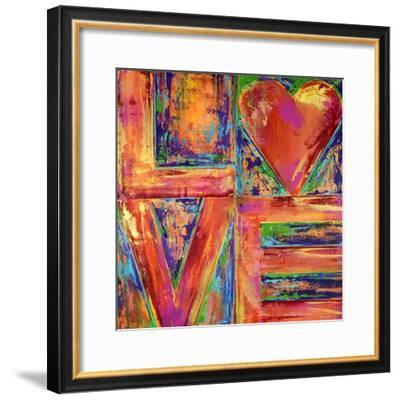 LIVE & LOVE, 2019-Ben Bonart-Framed Premium Giclee Print