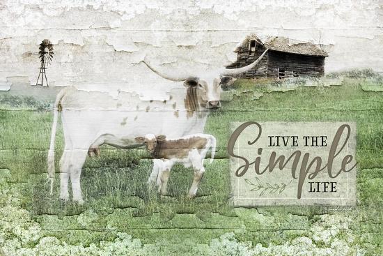 LIVe the Simple Life-Jennifer Pugh-Art Print