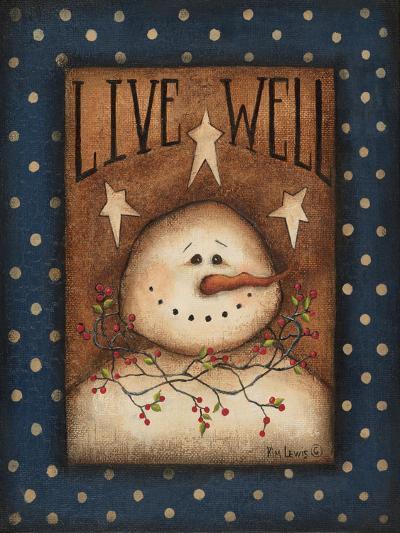 Live Well-Kim Lewis-Art Print
