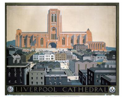 Liverpool Cathedral--Art Print