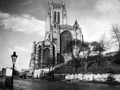 Liverpool Cathedral-Liverpool Post Echo Archive-Photographic Print