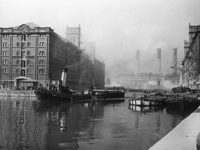 Liverpool Docks--Photographic Print