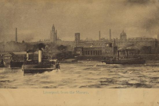 Liverpool, from the Mersey-English Photographer-Photographic Print