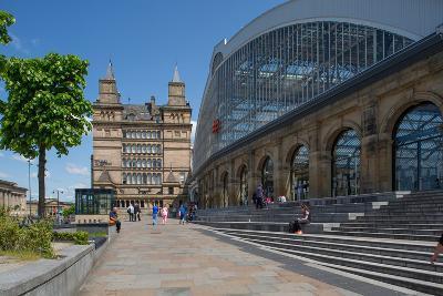 Liverpool Lime Street Railway Station, Liverpool, Merseyside, England, United Kingdom, Europe-Frank Fell-Photographic Print