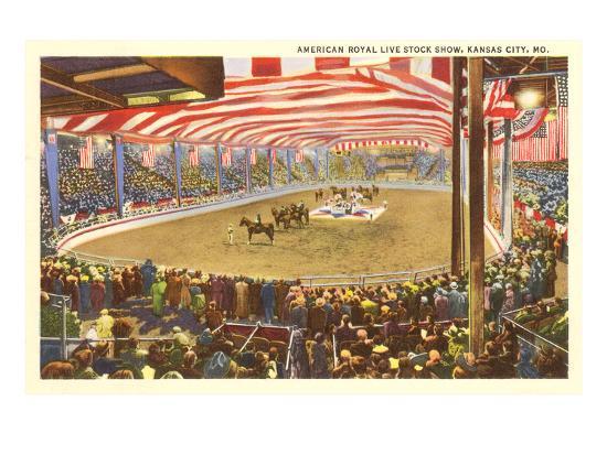 Livestock Show, Kansas City, Missouri--Art Print