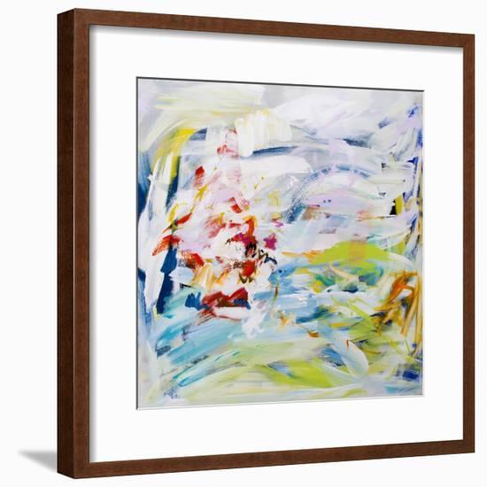 Living Among Trees I-Angie Kenber-Framed Giclee Print