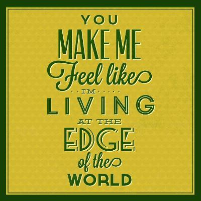 Living at the Edge 1-Lorand Okos-Art Print