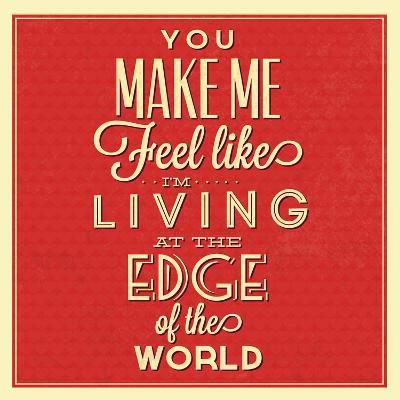 Living at the Edge-Lorand Okos-Art Print