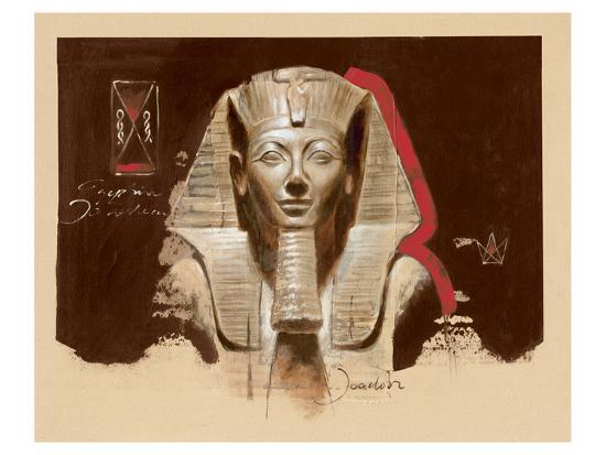 Living Image of Amun-Joadoor-Art Print