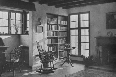 Living room - stucco cottage at Bronxville, New York, 1925--Photographic Print