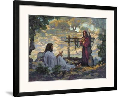 Living Water-Michael Dudash-Framed Art Print