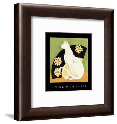Living With Grace 1-Sybil Shane-Framed Art Print