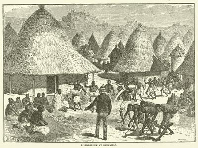 Livingstone at Shupanga--Giclee Print