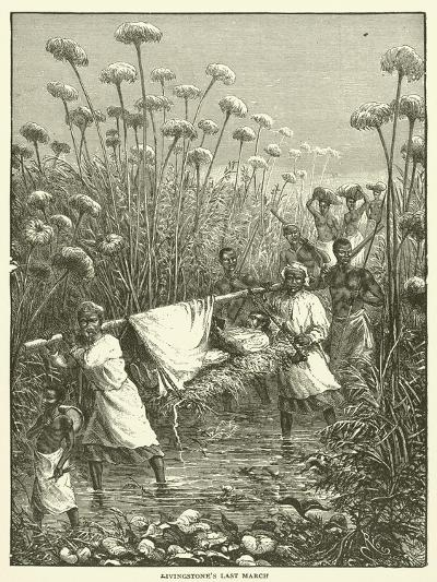 Livingstone's Last March--Giclee Print