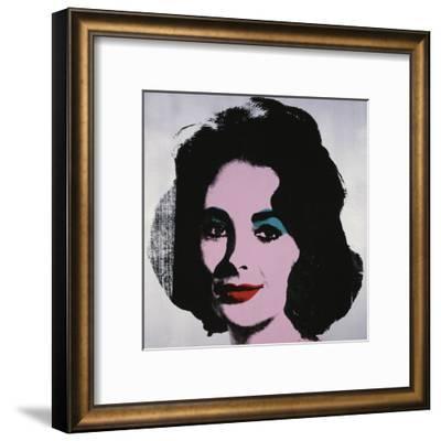 Liz, 1963-Andy Warhol-Framed Art Print