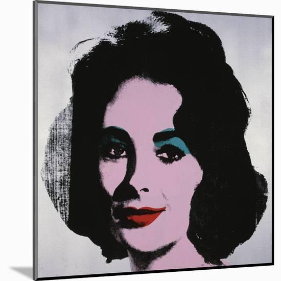 Liz, 1963-Andy Warhol-Mounted Art Print