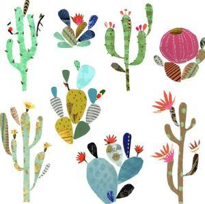 Cactus Art by Liz and Kate Pope