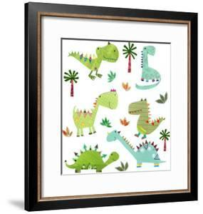 Cute Dinos by Liz and Kate Pope