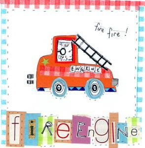 Fire Engine by Liz and Kate Pope