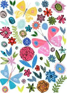 Folk Art Flowers & Butterflies by Liz and Kate Pope