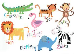 Jungle Animals With Names by Liz and Kate Pope